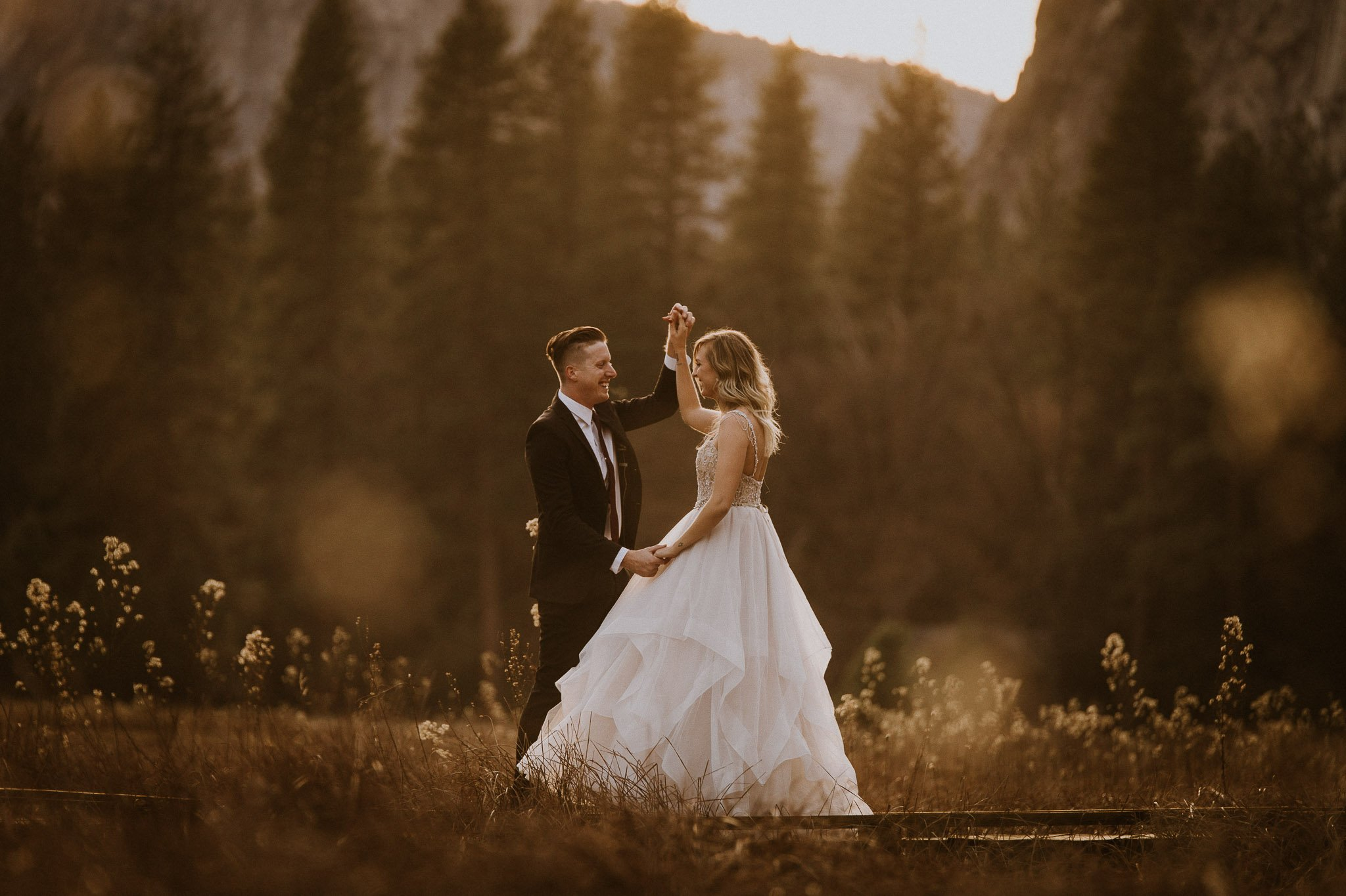adventurous elopement in Yosemite National Park